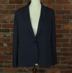 Chico's Pin Dot Knit Blazer